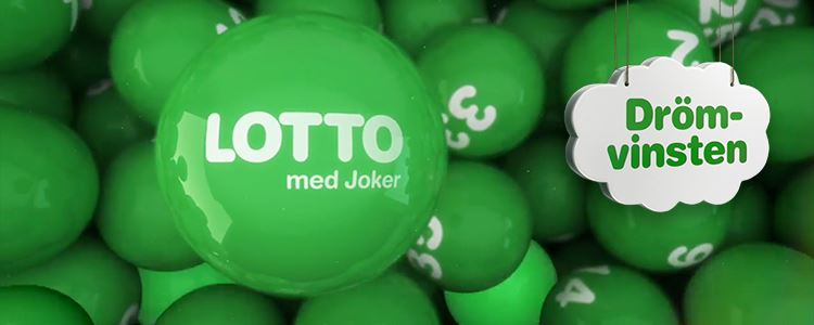 Lotto med drömvinsten
